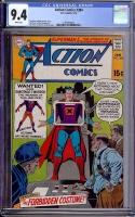 Action Comics #384 CGC 9.4 w