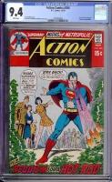 Action Comics #394 CGC 9.4 w