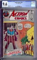 Action Comics #407 CGC 9.6 ow/w