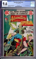 Adventure Comics #421 CGC 9.6 ow/w