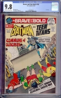 Brave and the Bold #102 CGC 9.8 ow/w