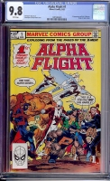Alpha Flight #1 CGC 9.8 w