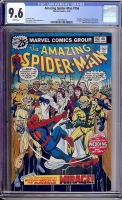 Amazing Spider-Man #156 CGC 9.6 w