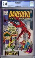 Daredevil #73 CGC 9.8 w