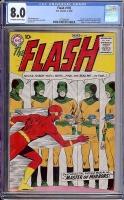 Flash #105 CGC 8.0 ow/w