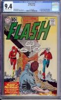 Flash #123 CGC 9.4 ow/w