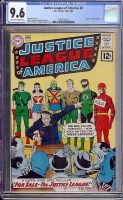 Justice League of America #8 CGC 9.6 ow/w