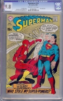 Superman #220 CGC 9.8 ow/w