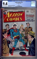 Action Comics #113 CGC 9.4 ow/w Ohio