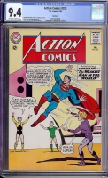 Action Comics #321 CGC 9.4 ow Northland