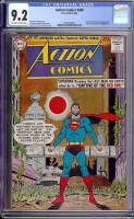 Action Comics #300 CGC 9.2 ow/w