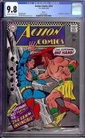 Action Comics #351 CGC 9.8 ow/w Boston
