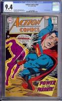 Action Comics #361 CGC 9.4 ow/w