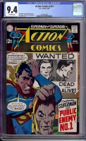 Action Comics #374 CGC 9.4 ow