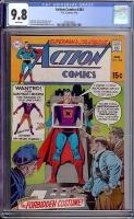 Action Comics #384 CGC 9.8 w