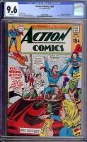 Action Comics #388 CGC 9.6 w
