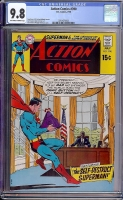 Action Comics #390 CGC 9.8 ow/w