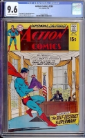 Action Comics #390 CGC 9.6 ow/w