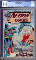 Action Comics #392 CGC 9.6 ow/w