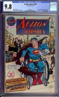 Action Comics #396 CGC 9.8 ow/w