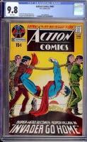Action Comics #401 CGC 9.8 w