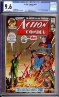 Action Comics #402 CGC 9.6 ow