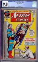 Action Comics #404 CGC 9.8 ow/w