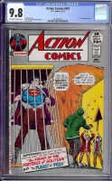 Action Comics #407 CGC 9.8 ow/w