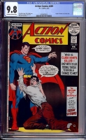 Action Comics #409 CGC 9.8 ow/w