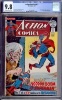Action Comics #413 CGC 9.8 ow/w