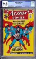 Action Comics #418 CGC 9.8 w
