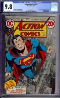 Action Comics #419 CGC 9.8 w