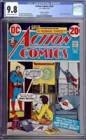 Action Comics #422 CGC 9.8 ow/w Don Rosa Collection