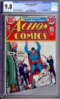 Action Comics #423 CGC 9.8 ow/w