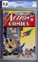 Action Comics #425 CGC 9.8 w