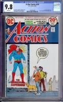 Action Comics #428 CGC 9.8 w