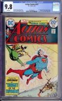 Action Comics #432 CGC 9.8 w