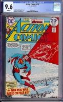 Action Comics #433 CGC 9.6 w