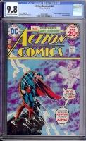 Action Comics #440 CGC 9.8 ow/w