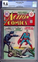 Action Comics #444 CGC 9.6 ow/w
