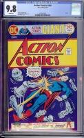 Action Comics #449 CGC 9.8 w