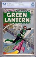 Green Lantern #4 CBCS 9.6 ow/w