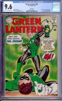 Green Lantern #59 CGC 9.6 ow/w Twin Cities
