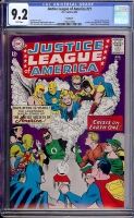 Justice League of America #21 CGC 9.2 w Northland