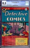 Detective Comics #109 CGC 8.5 ow/w