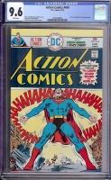 Action Comics #450 CGC 9.6 w