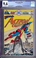 Action Comics #456 CGC 9.6 w