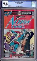 Action Comics #463 CGC 9.6 w
