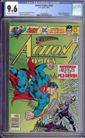 Action Comics #464 CGC 9.6 ow/w