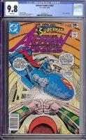 Action Comics #482 CGC 9.8 w